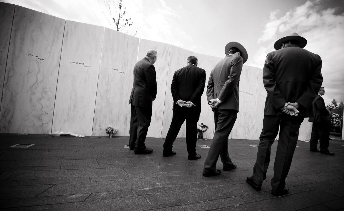 Defense Secretary Panetta Visits Flight 93 Memorial Ahead Anniversary