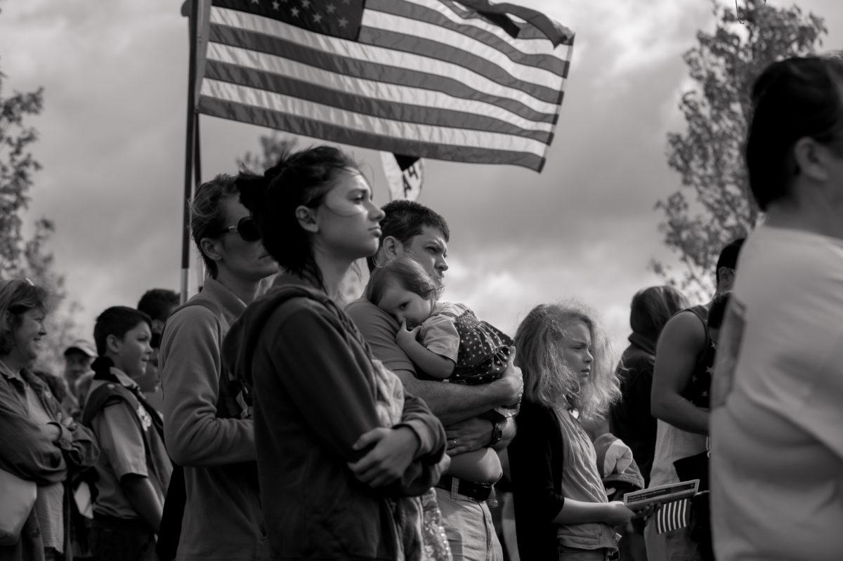 15th Anniversary Of Sept. 11th Attacks Commemorated At Flight 93 National Memorial In Shanksville, Pennsylvania