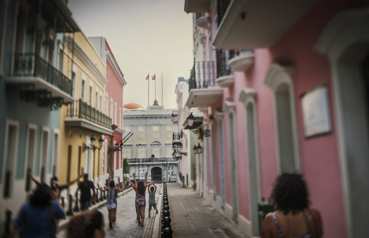 Old San Juan / A brief encounter